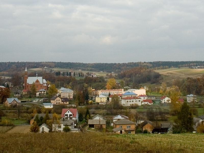Panorama Szerzyn / Photo by Iwona Grabska / Wikipedia / CC BY-SA 2.5