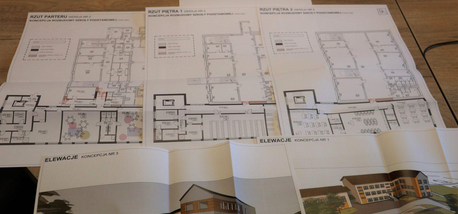 Projekt rozbudowy szkoły w Ładnej