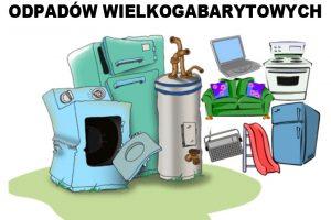 Informacja dla ZACZARNIA dot. zbiórki odpadów wielkogabarytowych
