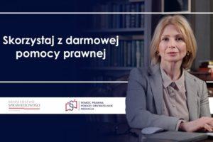 Informacja odziałalności systemu nieodpłatnej pomocy prawnej iporadnictwa obywatelskiego