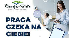 Zarząd LGD Dunajec – Biała ogłosza nabór na stanowisko administracyjne