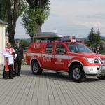 Samochód strażacki dla OSP Więckowice już poświęcony