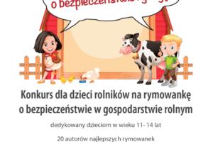 Konkurs dla dzieci na rymowankę