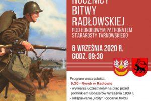 81. rocznica Bitwy Radłowskiej