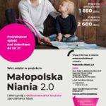 """Trzeci nabór do projektu """"Małopolska Niania 2.0"""""""