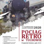 Pociąg retro w Tuchowie