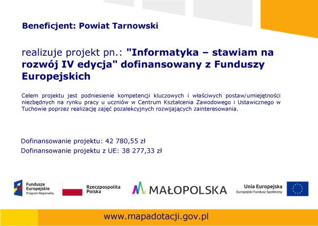 Plakat Informatyka IV