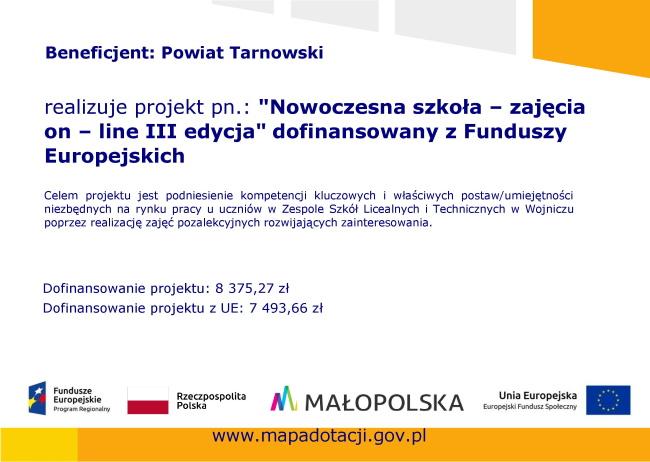 Plakat Nowoczesna szkola III