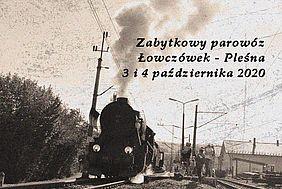 Zabytkowy skład zawita na stację Łowczówek – Pleśna