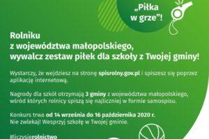"""Konkurs Urzędu Statystycznego w Krakowie pn. """"Piłka w grze"""""""