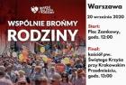 """""""Wspólnie brońmy rodziny"""" – to hasło tegorocznego Marszu dla Życia i Rodziny, który 20 września odbędzie się w Warszawie"""