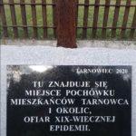 Pamięci ofiar epidemii sprzed stu pięćdziesięciu lat