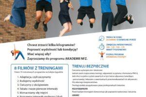 """Program promocji aktywności fizycznej """"8 tygodni do zdrowia"""""""