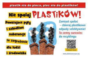 """Kampania """"Plastik nie do pieca – piec nie do plastiku"""" w trosce o czyste powietrze"""