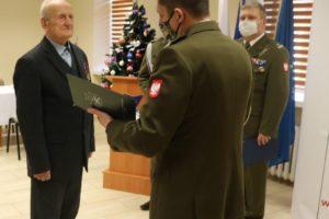 Nadanie mieszkańcowi gminy Tuchów pierwszego stopnia oficerskiego