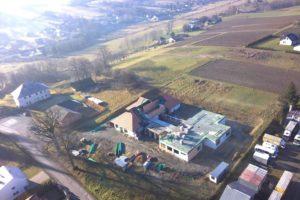 Trwają prace związane z Budową Budynku Opieki Nad Małym Dzieckiem w Szerzynach