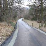 fragment wyremontowanej drogi gminnej 203364K