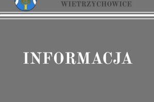 Komunikat Wójta Gminy Wietrzychowice z dnia 16 kwietnia 2021 r. w sprawie wprowadzenia ograniczeń związanych z realizacją zadań publicznych przez Urząd Gminy Wietrzychowice