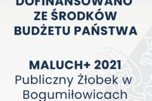 Żłobek w Bogumiłowicach z dotacją