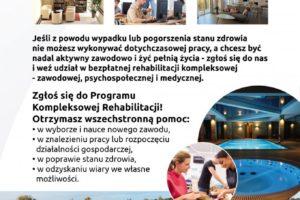Rehabilitacja kompleksowa – historie uczestników projektu