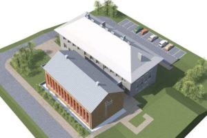 Prace przy budowie sali gimnastycznej w Żurowej zostały wznowione