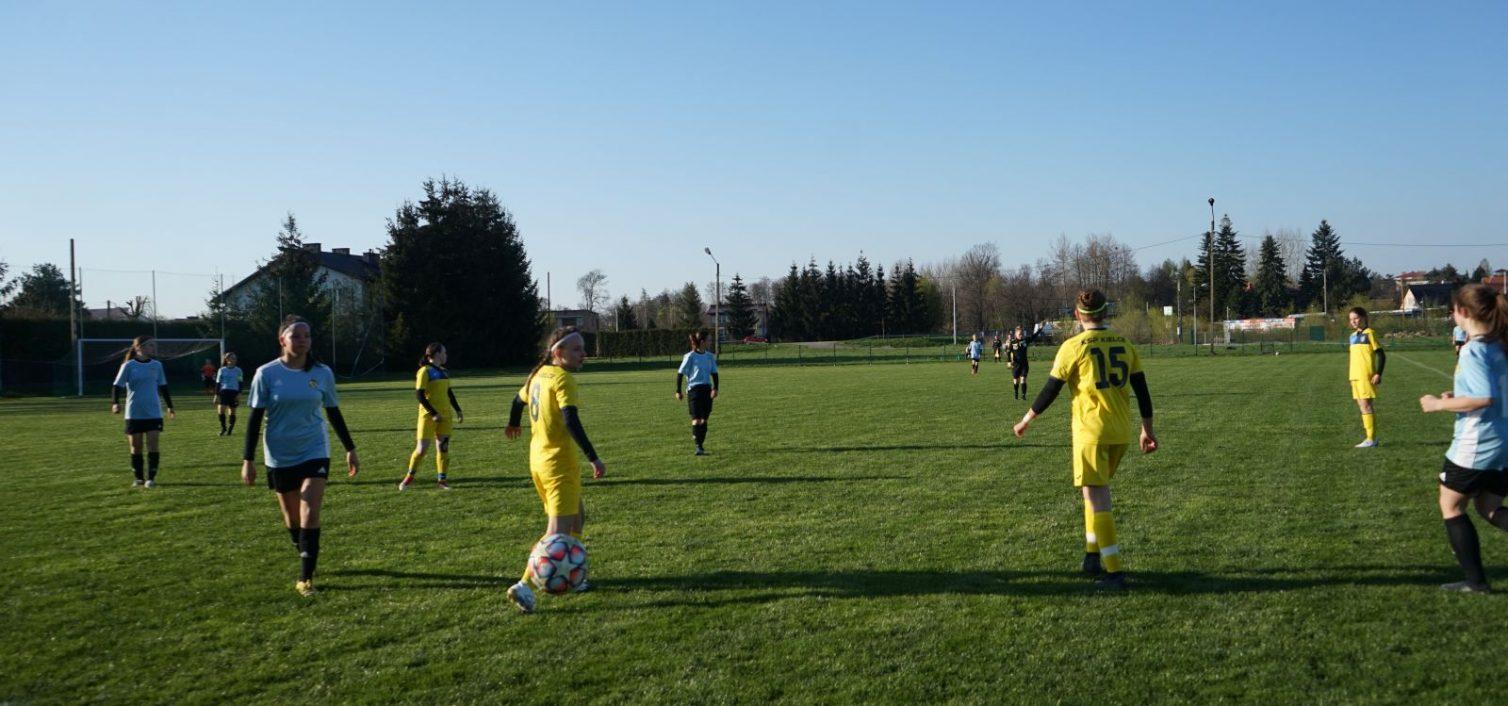 Pierwsze punkty w Centralnej Lidze Juniorek U-15