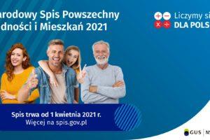 Trwa Narodowy Spis Powszechny 2021