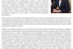 List prezesa KRUS na wakacje 2021