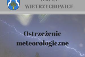 Ostrzeżenie meteorologiczne Nr 118- Burze z gradem/1