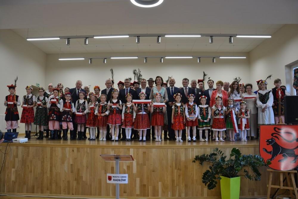 Otwarcie Domu Kultury w Biskupicach Radłowskich