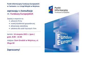 Punkt informacyjny Funduszy Europejkach