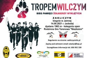 """IX edycja Biegu Pamięci Żołnierzy Wyklętych """"Tropem Wilczym"""""""