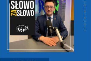 """Grzegorz Gotfryd Wójt Gminy Szerzyny gościem programu """"Słowo za Słowo"""""""