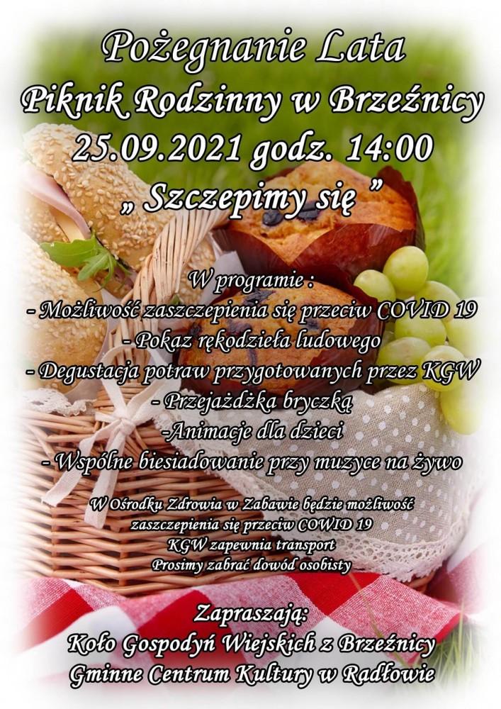 Festyn #SzczepimySię w Brzeźnicy