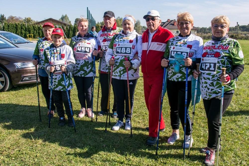 Cwierćmaraton i Nordic Walking w Brzeźnicy