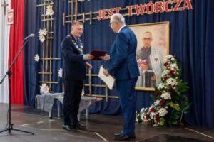 Św. Maksymilian Maria Kolbe patronem Szkoły Podstawowej w Zalasowej