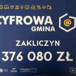 Pieniądze na cyfryzację gminy Zakliczyn
